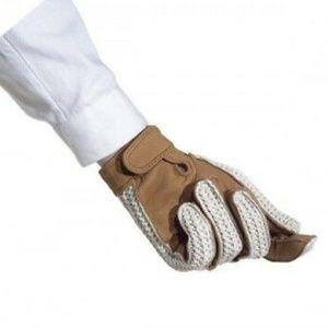 R.J. CLASSICS Ladies Crochet Back Glove